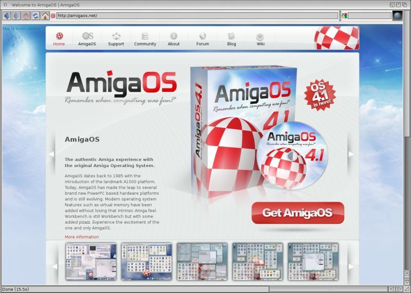 NetSurf | AmigaOS