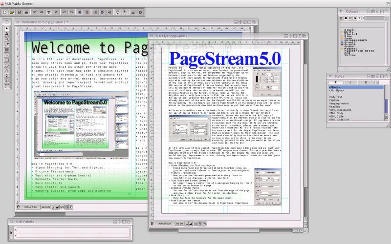 Pagestream | AmigaOS